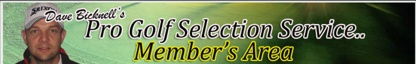 Daves Pro Golf Selections Final Review