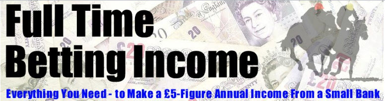Full Time Betting Income