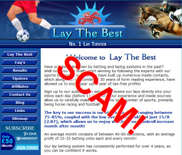 Lay betting software scams world sport betting brackenfell traffic department