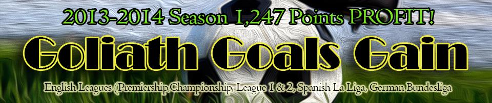Goliath Goals Gain Final Review